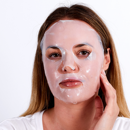 collagen mask dry face