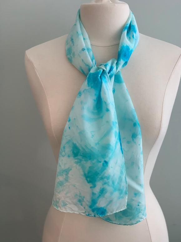 Small Silk Scarf  A156