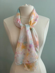 Small Silk Scarf  A158