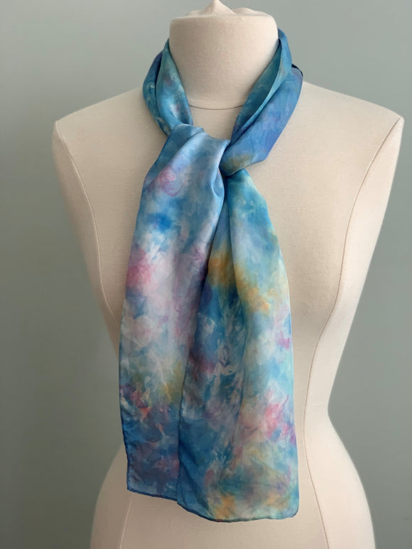 Small Silk Scarf  A167