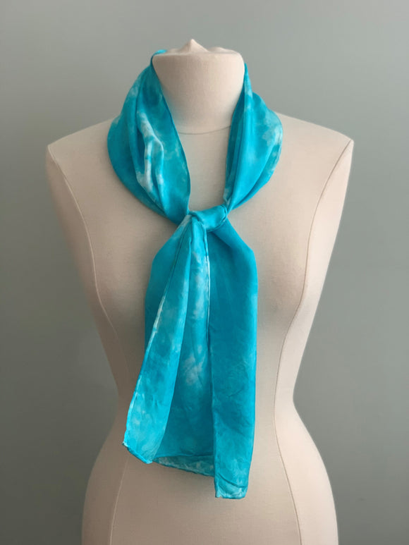 Small Silk Scarf  A176