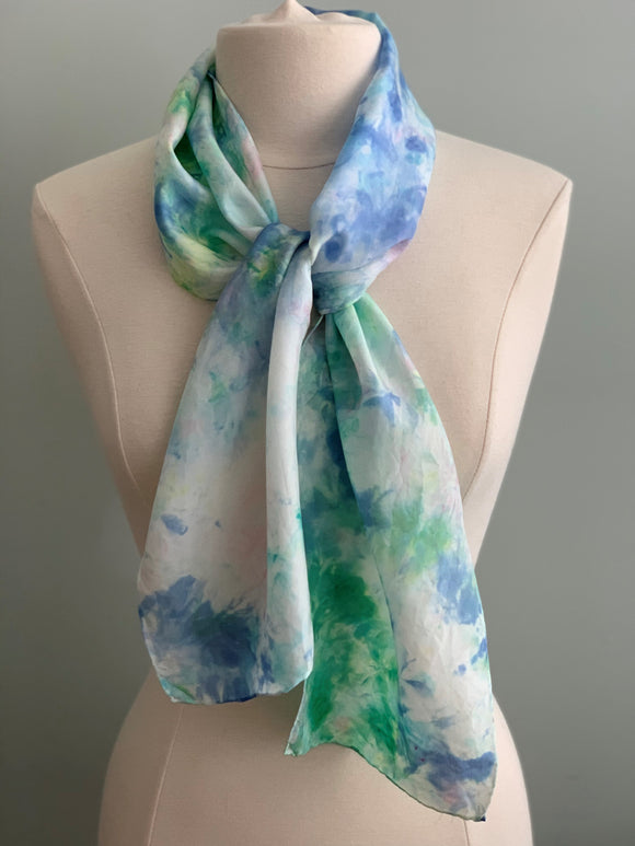 Small Silk Scarf  A190