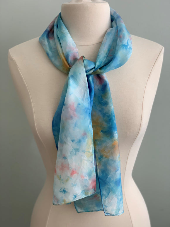 Small Silk Scarf  A191