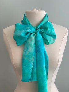Medium Silk Scarf B262