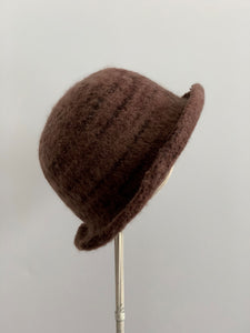 small brown hat