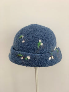 extra small blue hat