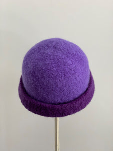 purple hat French Toque