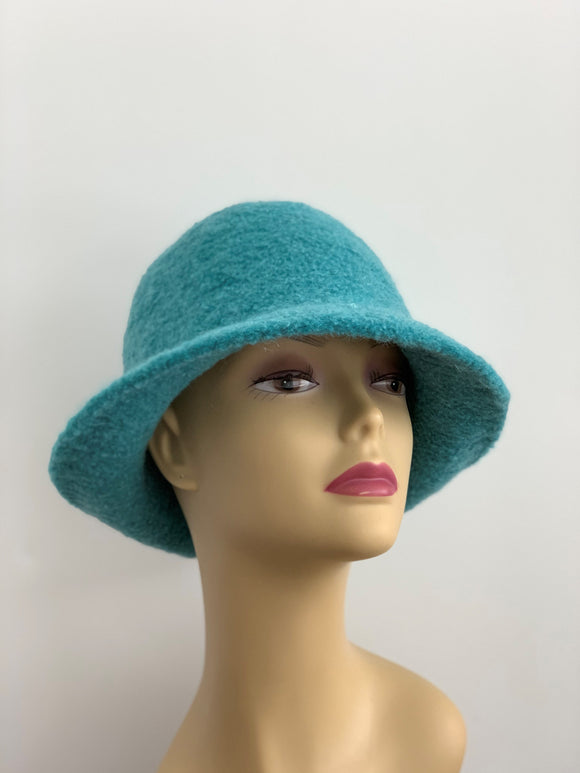 Tiffany Blue Wool Hat
