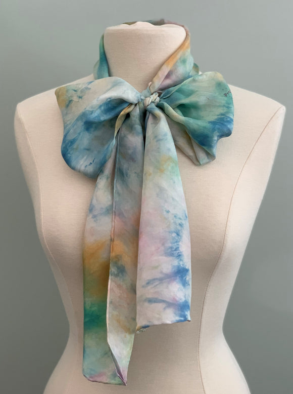 Medium Silk Scarf B200