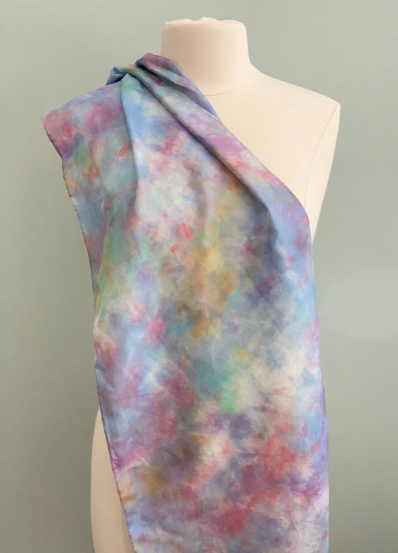 Large Silk Scarf C308