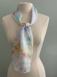 multi-color summer scarf