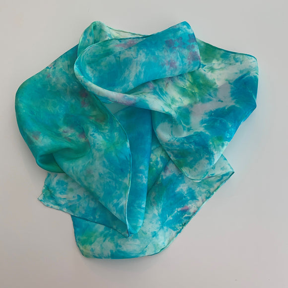 Small Silk Scarf  A141