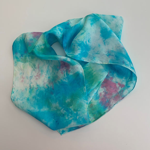 Small Silk Scarf  A142