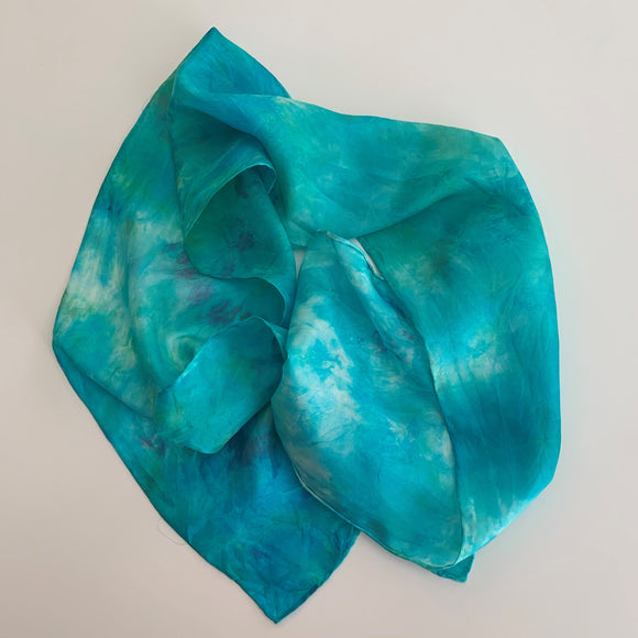 Small Silk Scarf  A139