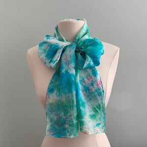 Medium Silk Scarf B205
