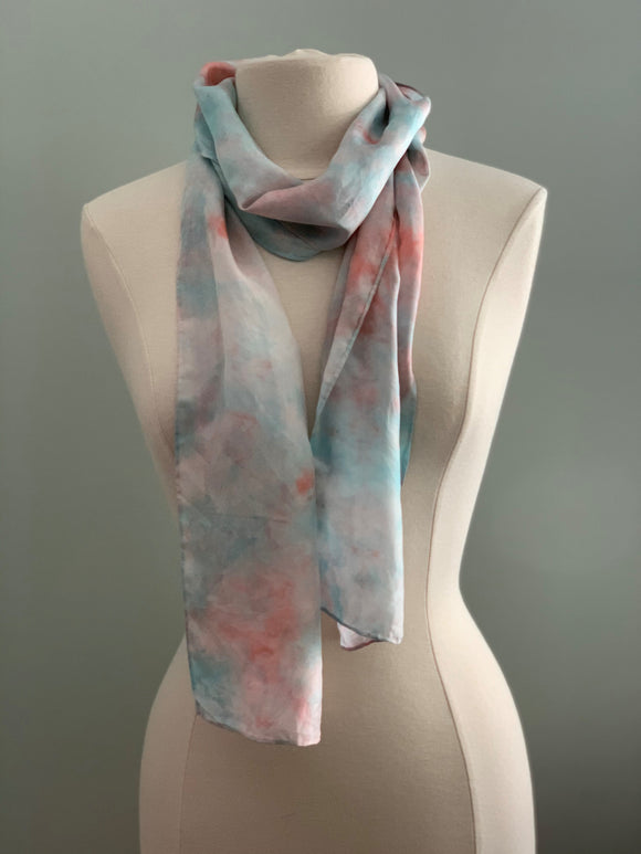 Medium Silk Scarf B209