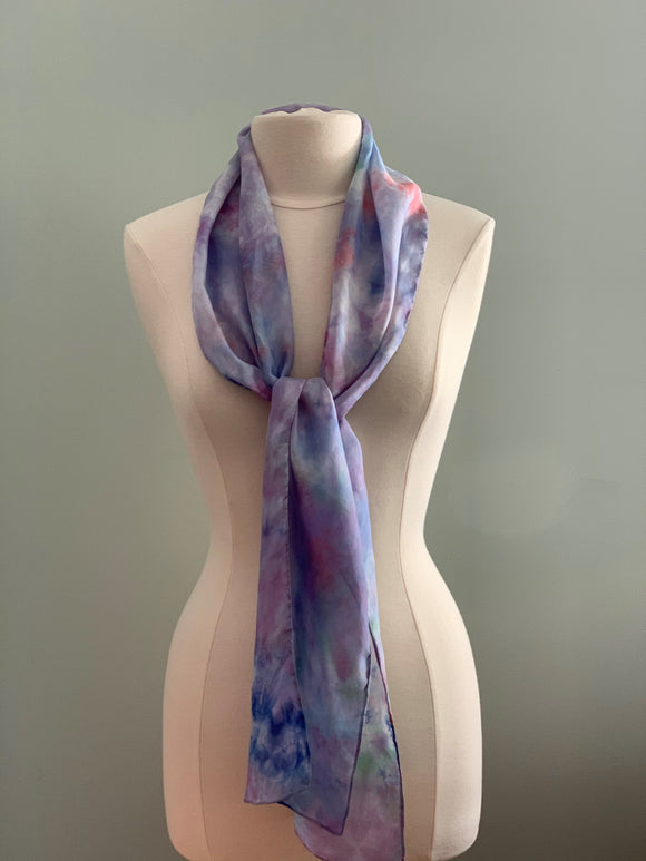 Medium Silk Scarf B210