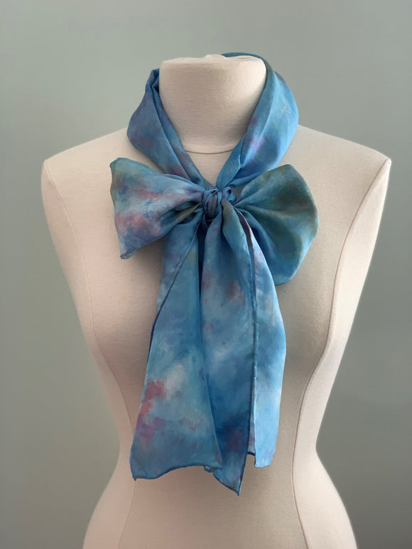 Medium Silk Scarf B212