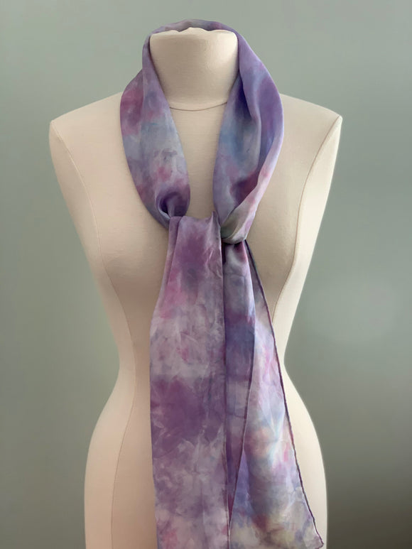 Medium Silk Scarf B215