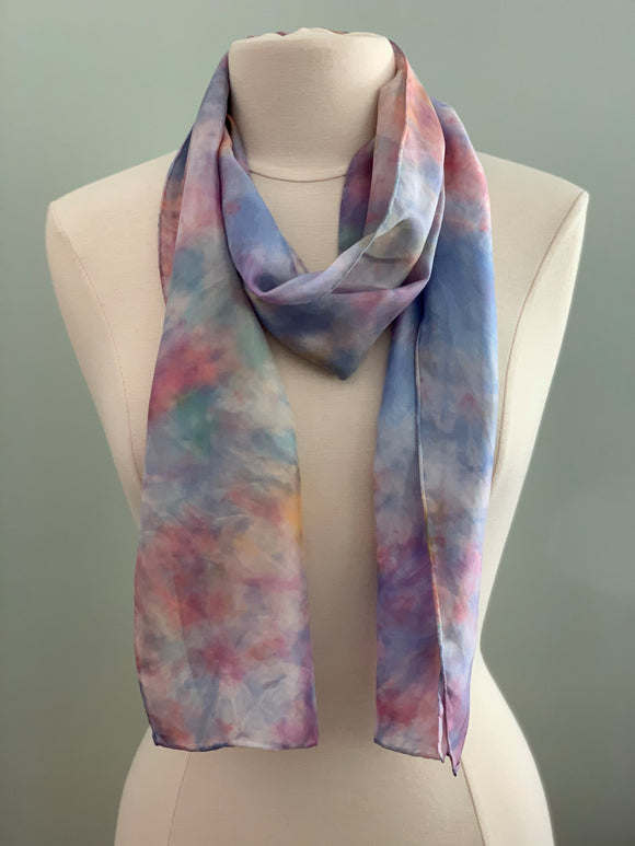 Medium Silk Scarf B218