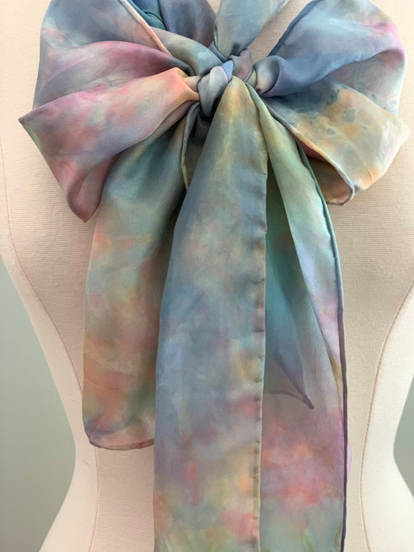 Medium Silk Scarf B219