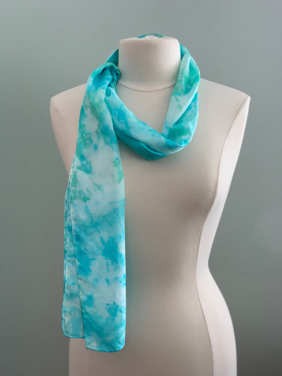 Medium Silk Scarf B221
