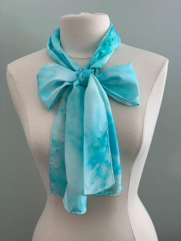 Medium Silk Scarf B222