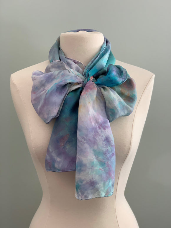 Large Silk Scarf C358