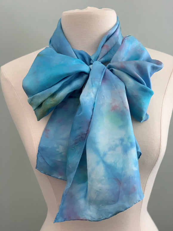 Large Silk Scarf C363