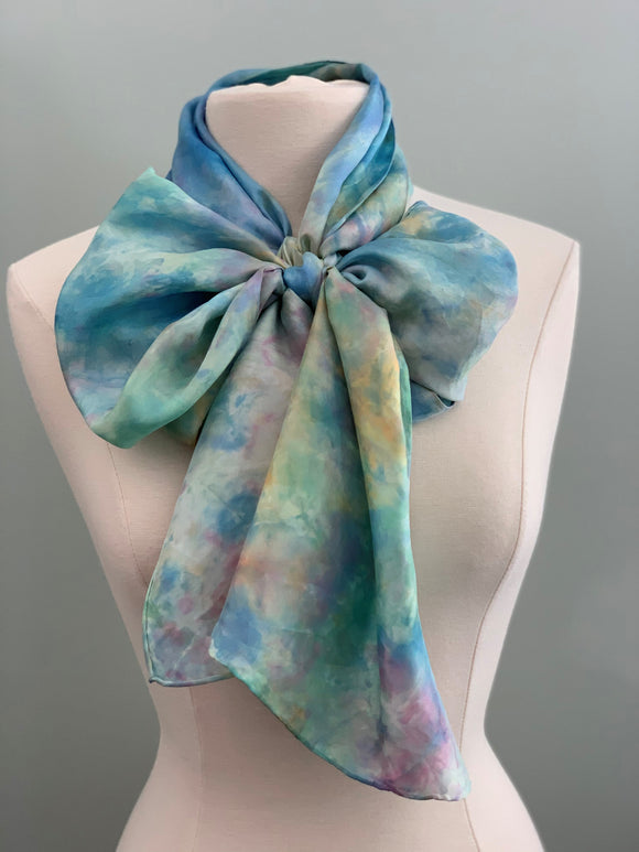 Large Silk Scarf C367