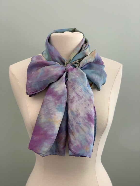 Large Silk Scarf C402