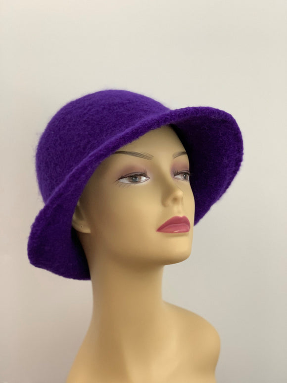 royal purple winter hat