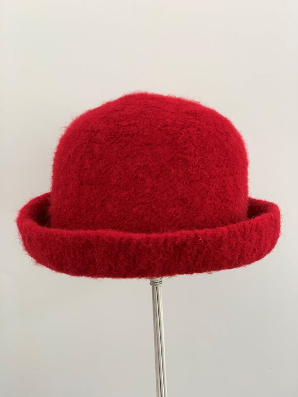 small red hat