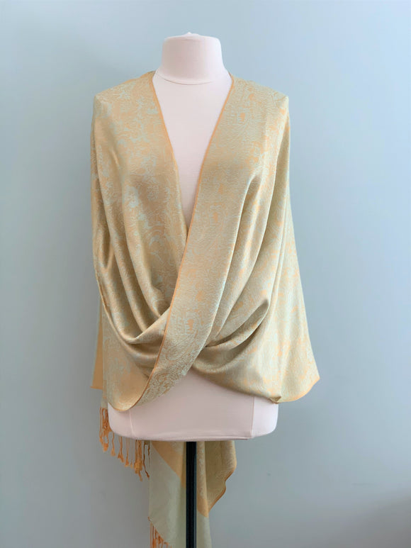 790 Mint and Gold Tiffany Cape
