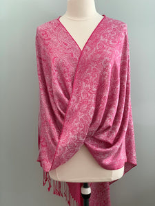 Pink and Cream Tiffany Cape 570