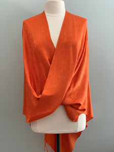 792 Tangerine and Red Tiffany Cape