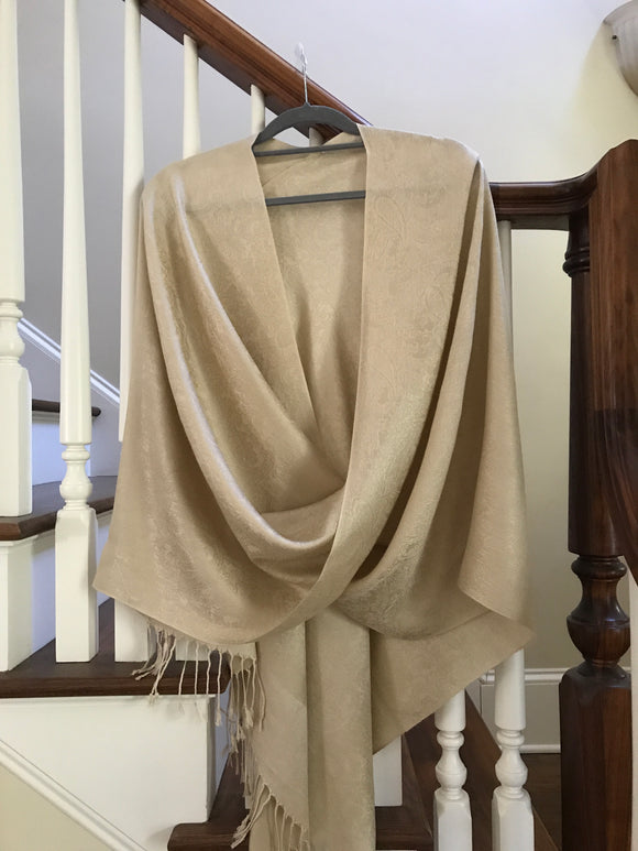 102 Beige Tiffany Cape