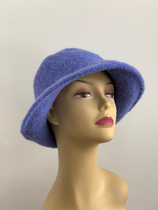 periwinkle wool hat