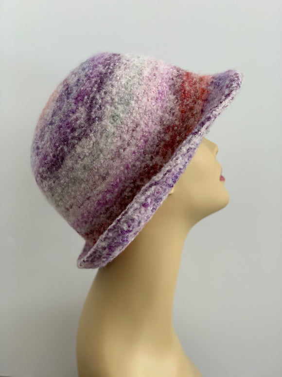 felted hat women's fashion