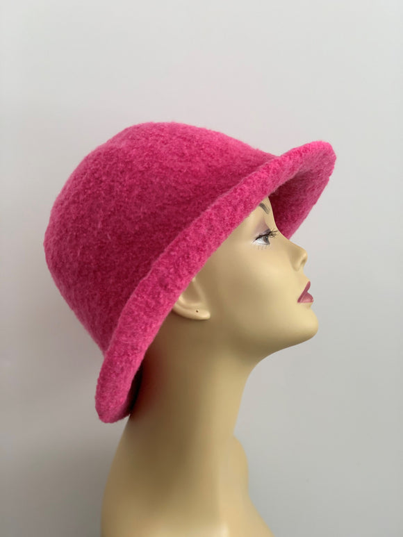 Grace Rose Hats dark pink hat