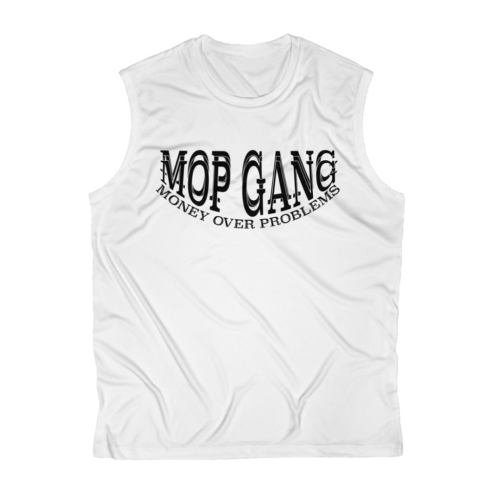 M.O.P Gang Men's Sleeveless Performance T-Shirt