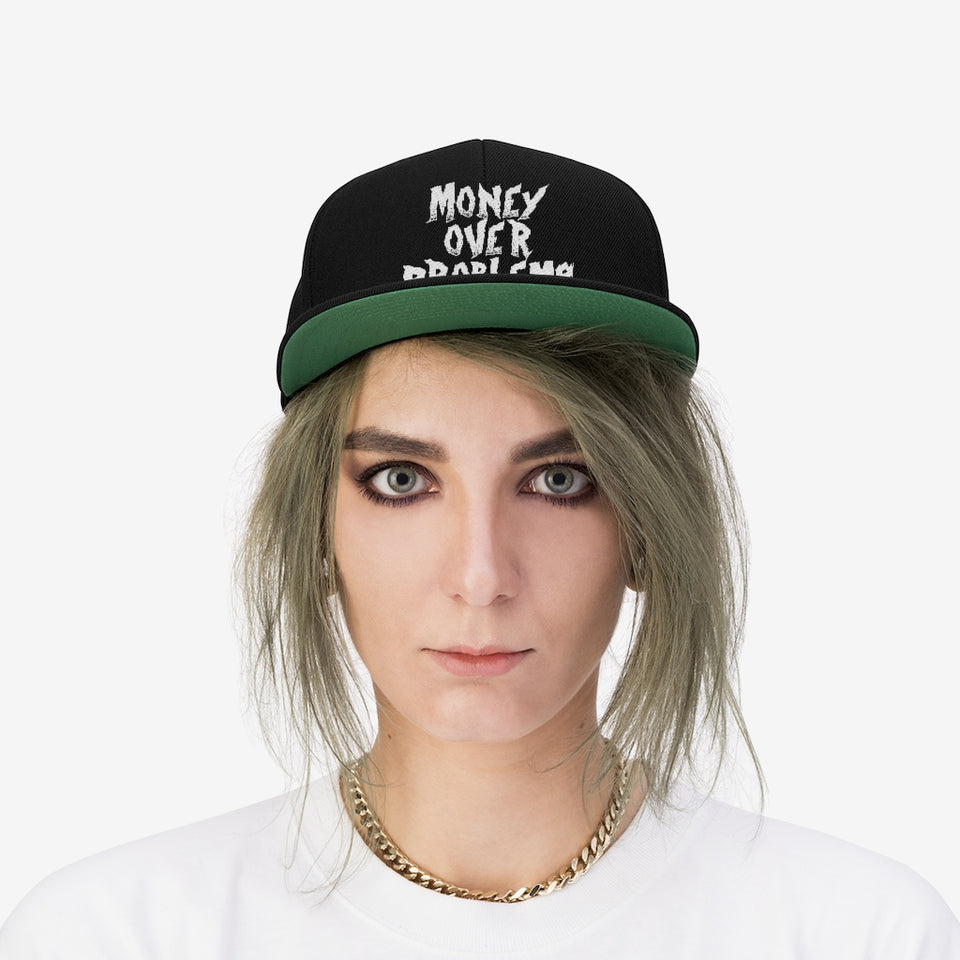 M.O.P Gang Unisex Flat Bill Hat