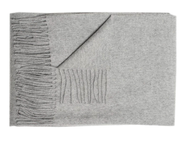 Linen Way - Bern Throw - Light Grey