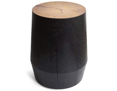 Smoke Stack Stool Black | Barter