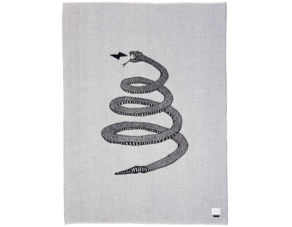 Peyote Snake Reversible Throw | Blacksaw