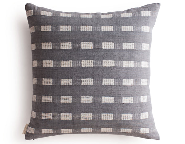 Bole Road Textiles - Berchi Cushion - Pumice