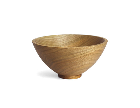 Elise McLauchlan - Small Round Bowl - English Walnut