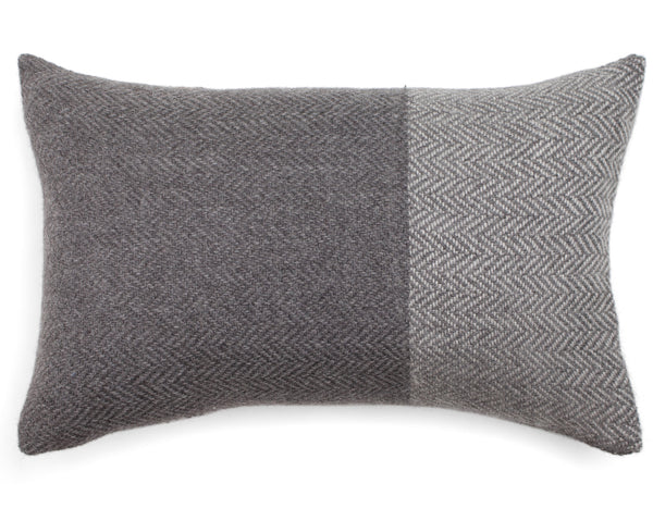 Florezca Designs - K'ille Pillow Grey - Lumbar