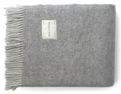 Linen Way - Rossland Throw - Grey