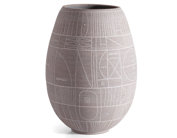 Heather Rosenman Ceramics - Vase 3956 - Luna